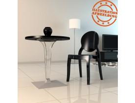 Transparante design tafelpoot 'DIMO' 70
