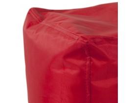 Bijzetpoef 'EASY' rood