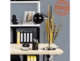Zwarte bureaulamp / leeslamp 'ENNA'