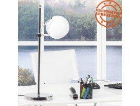 Witte bureaulamp / leeslamp 'ENNA'