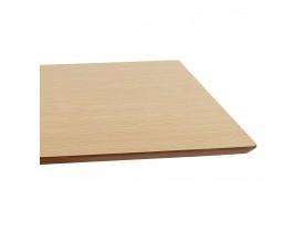 Design tafel / bureau 'MAMBO' met natuurlijk houten afwerking - 180x90 cm
