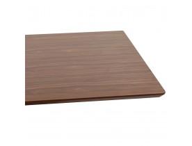 Design tafel / bureau 'MAMBO' met notenhouten afwerking - 180x90 cm