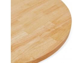 Tafelblad 'MASSIVO' rond van massief hout - Ø 70 cm