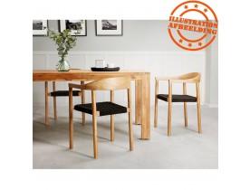 Eettafel van massief hout 'MARINA' voor binnen en buiten - 240x100 cm