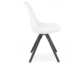 Design stoel 'PIPA' wit