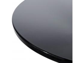 Zwarte design bijzettafel 'SATURN' voor een loungehoek in een bar