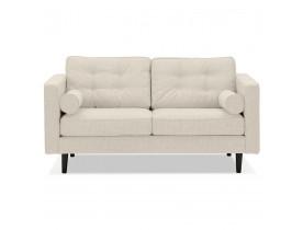 Beige stoffen rechte design zetel 'STAGU' - Zetel met 2 plaatsen
