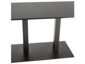 Design tafel / bureau 'ZUMBA' zwart - 180x90 cm