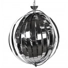 Bolvormige design hanglamp 'LISA' met flexibele lamellen