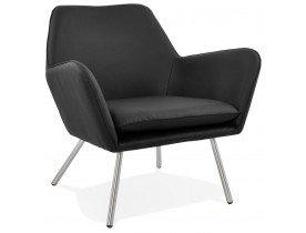 Design loungezetel 'AMERIKA' in zwarte kunststof