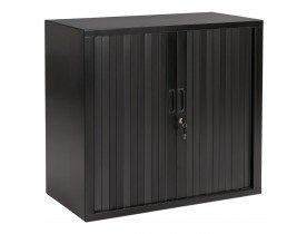 Kleine 'CLASSIFY' zwarte gordijnkast - 72x80 cm
