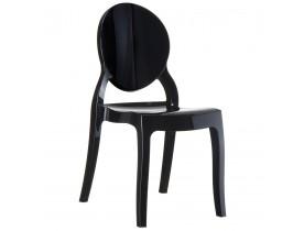Designstoel 'ELIZA' zwart