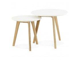 Inschuifbare ronde tafel GABY Scandinavische stijl - Alterego