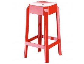 Halfhoge rode keukenkruk 'LENO MINI' uit kunststof