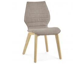 Stoffen design stoel 'LINDA' in Scandinavische stijl