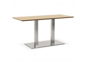 Design tafel / bureau 'MAMBO' met natuurlijk houten afwerking - 150x70 cm