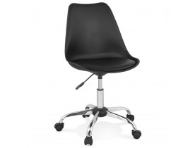 Zwarte design bureaustoel 'MONKY'