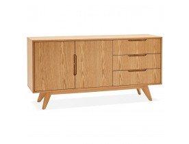 Designkast 'PORTOBELLO' in hout met natuurlijke afwerking
