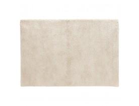Beige shaggy woonkamertapijt 'TISSO' - 120x170 cm