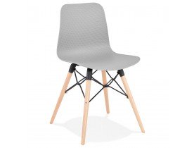 Scandinavische stoel 'TONIC' grijs design