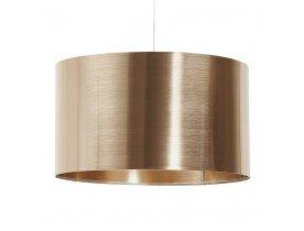 Hanglamp TRIKO met koperkleurige lampenkap - Alterego