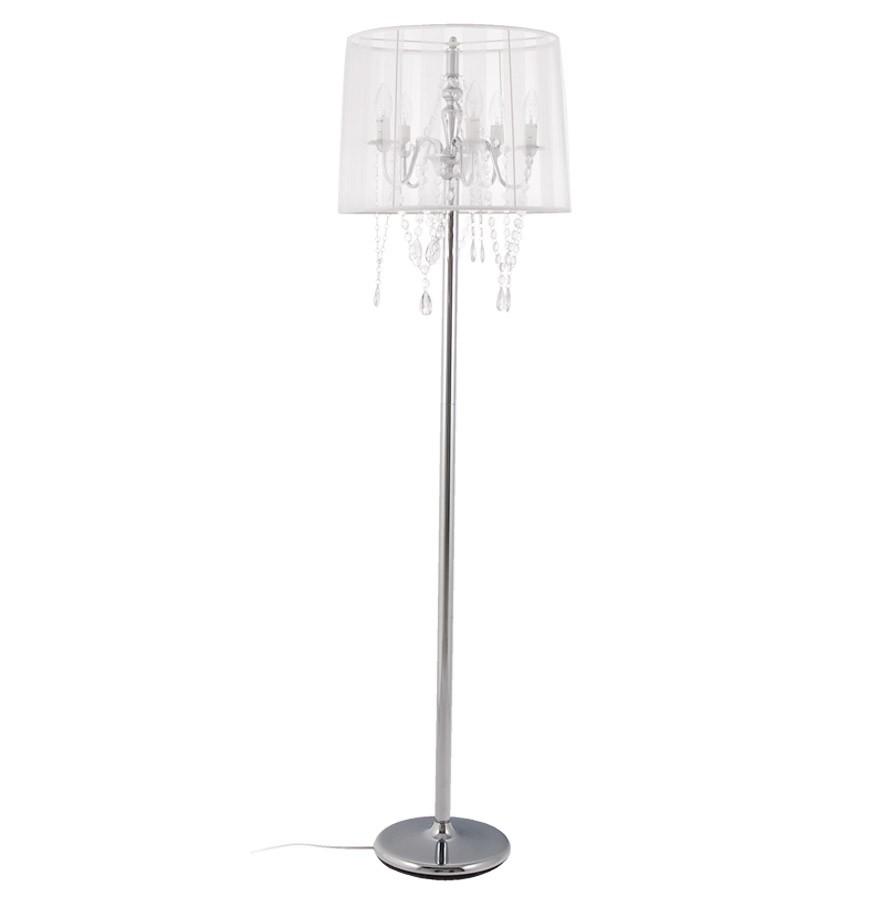 Barokke staande lamp barok met witte passementstrookjes - Kronleuchter stehlampe ...