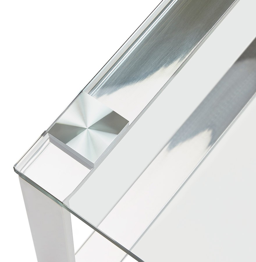 Lage Glazen Tafel.Lage Salontafel In Glas Nebraska Designtafel