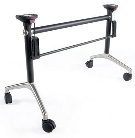 Verrijdbare klaptafel onderstel 'FLEXO BASE' met verstelbare structuur