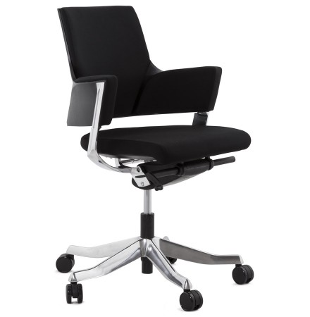 Moderne, zwarte bureaustoel 'BOSS'