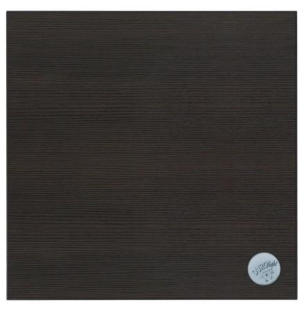 Vierkant tafelblad 'BRISTOL' uit wengéhout - 60x60 cm
