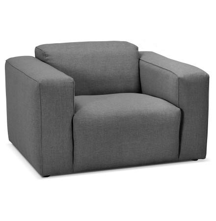 Design salonzetel 1 zitplaats 'CANYON MICRO' donkergrijs