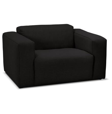 1,5-zits fauteuil 'CANYON MINI' zwart