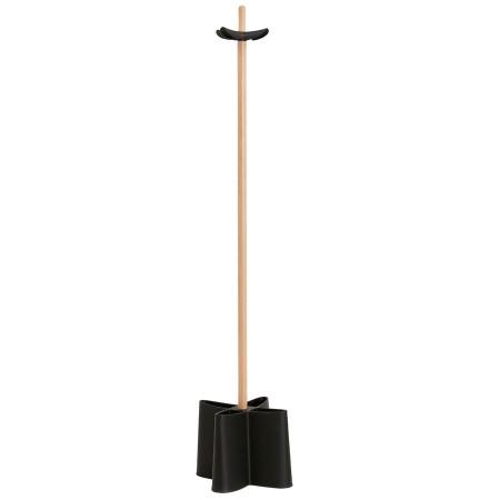Kapstok op poot 'CAPORAL' zwart in Scandinavische stijl