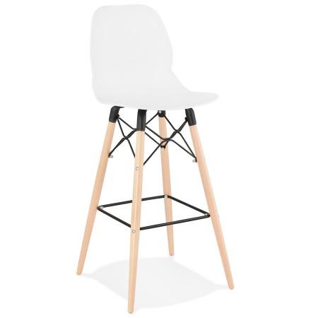 Design barkruk 'COSMIK' wit Scandinavische stijl