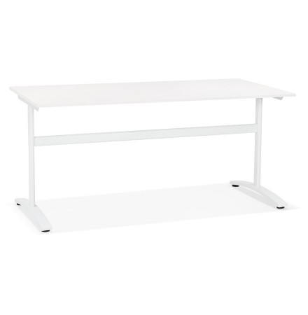 Grote rechte bureau 'CRYPTO' wit - 160x80 cm