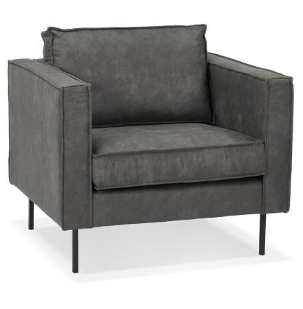 1-persoons lounge zetel 'JANE MICRO' grijs