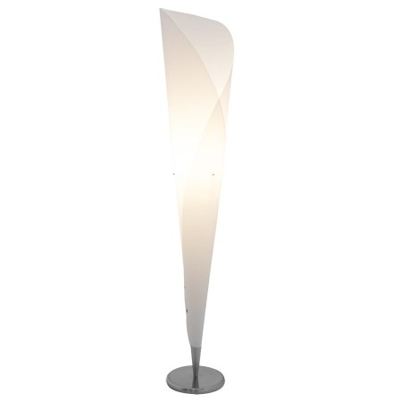 Witte kegelvormige design lamp 'KONE'