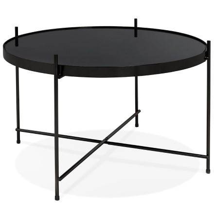 Lage tafel 'KOLOS MEDIUM' zwart