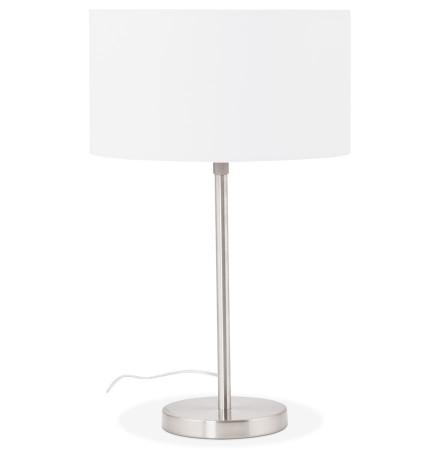 Witte, in de hoogte regelbare tafellamp 'LIVING MINI'