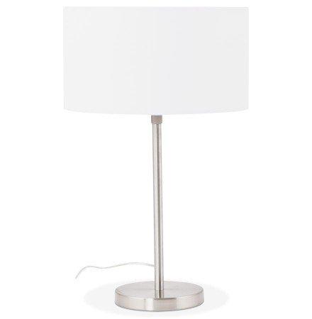 Witte, in de hoogte regelbare tafellamp LIVING MINI - Alterego
