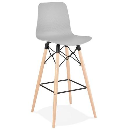 Design barkruk 'MOZAIK' grijs Scandinavische stijl