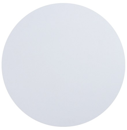 Wit, rond tafelblad 'RINGO' Ø 60cm