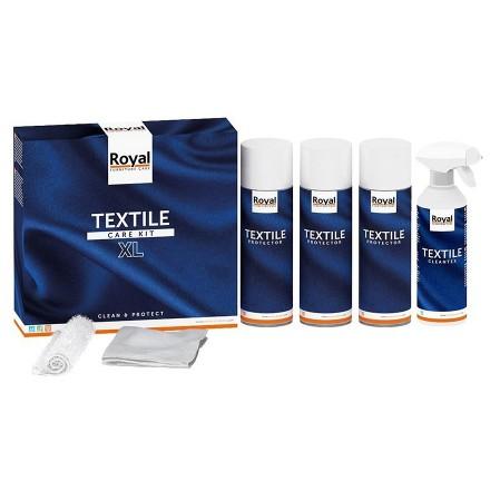 Onderhoudsset voor textiel 'ROYALTEX' - Producten om stof te onderhouden en te beschermen