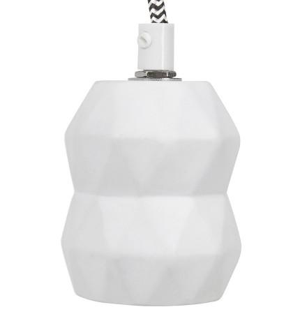 Witte design lampvoet SOKET - Alterego 2