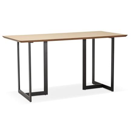 Eettafel / design bureau TITUS van natuurlijk hout - 150x70 cm - Alterego