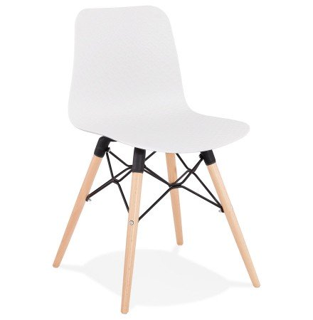 Scandinavische stoel 'TONIC' wit design