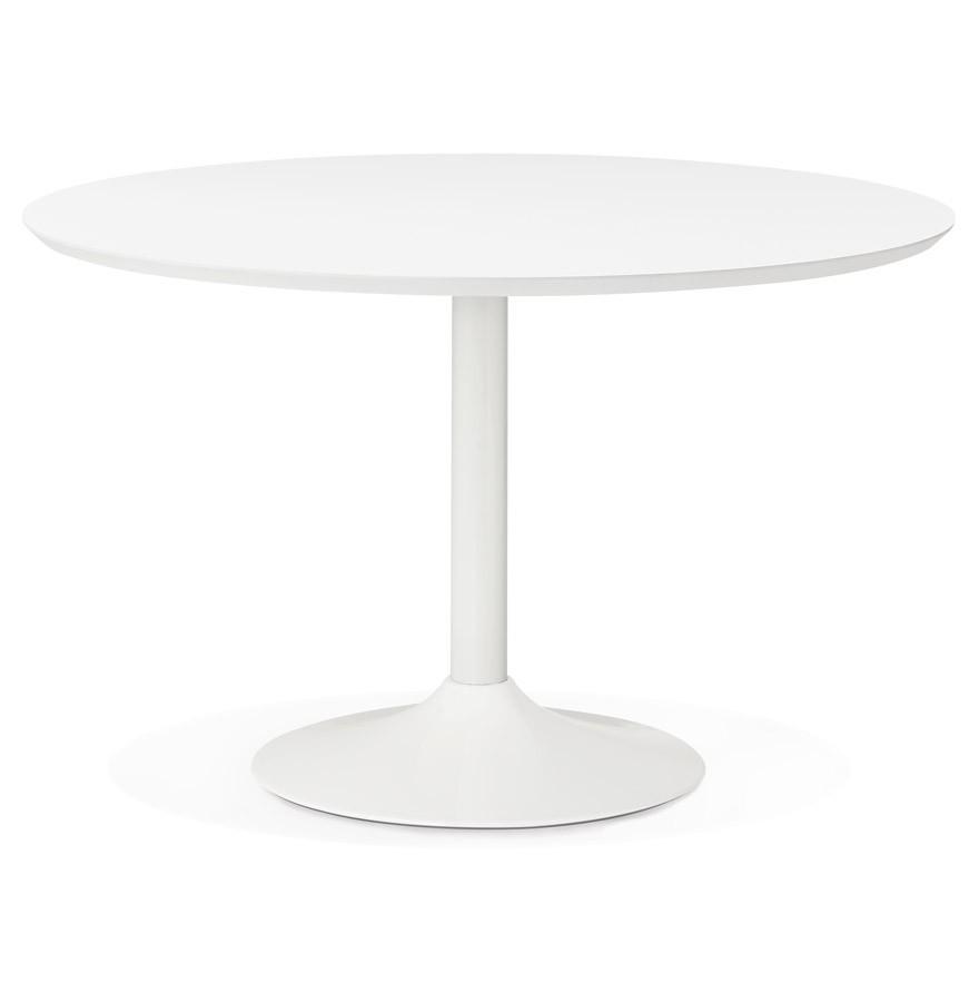 Voorkeur Ronde eettafel BARABAR van wit hout - Bureautafel OP44