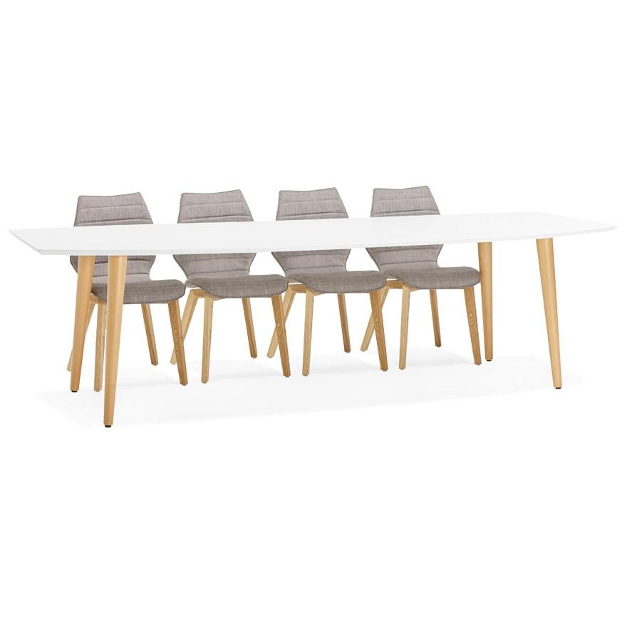 Verwonderlijk Design eettafel ESKIMO - Uitschuifbare tafel in Scandinavische stijl AP-57