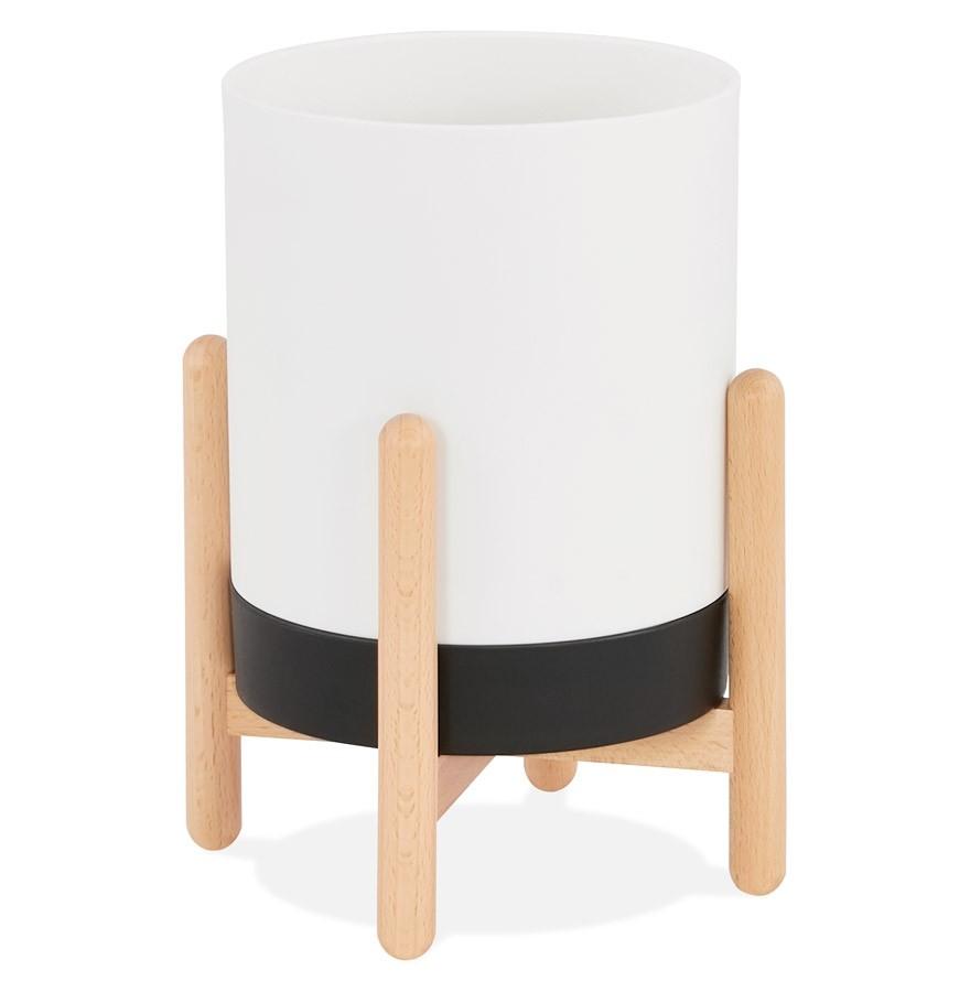 Bloempot Binnen Wit.Designbloempot Margerit Voor Binnen Wit
