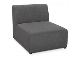 Element van samen te stellen bank 'BELAGIO SEAT' donkergrijs - 1 zitplaats